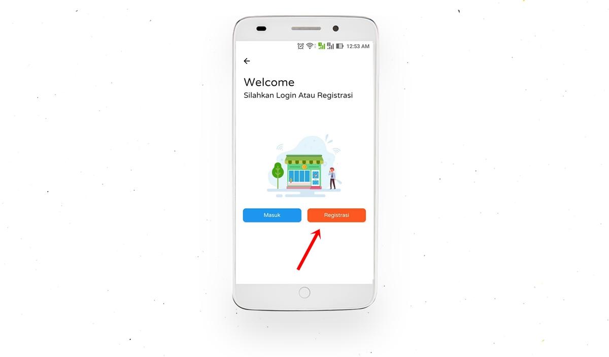 Daftar Reseller via Aplikasi Timi Pulsa